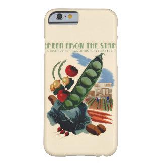 ヴィンテージの緑地帯のMotorolaの例 Barely There iPhone 6 ケース