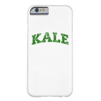 ヴィンテージの緑葉カンラン大学おもしろいなビーガン BARELY THERE iPhone 6 ケース