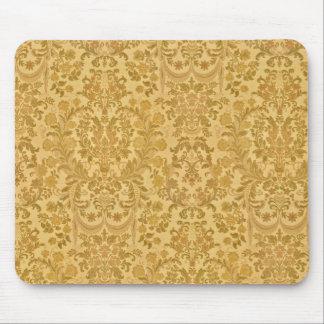 ヴィンテージの織り目加工のブロケード、ダマスク織およびタペストリー マウスパッド