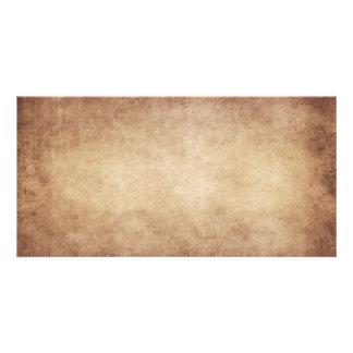 ヴィンテージの羊皮紙のアンティークの紙の背景のカスタム カード