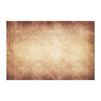 ヴィンテージの羊皮紙のアンティークの紙の背景のカスタム キャンバスプリント