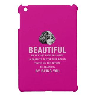 ヴィンテージの美しい絶対必要の開始のピンク iPad MINI CASE