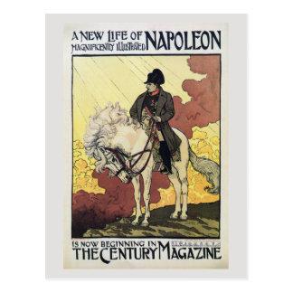 ヴィンテージの美女の新紀元の雑誌の広告ナポレオン ポストカード