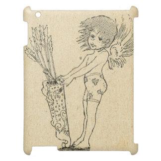 ヴィンテージの美女の新紀元、小さい天使 iPadケース