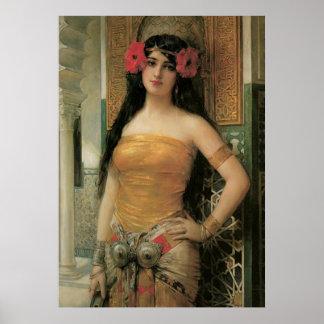 ヴィンテージの美女ポスター ポスター