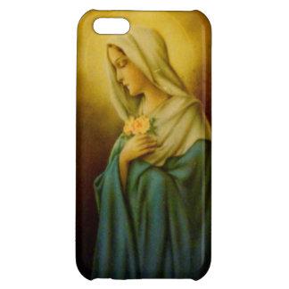 ヴィンテージの聖母マリアSt MaryのiPhoneの場合 iPhone5Cカバー