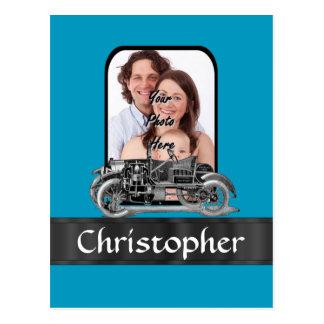 ヴィンテージの自動車 ポストカード