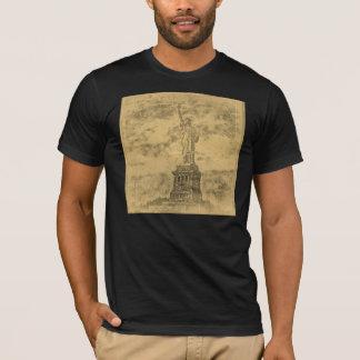 ヴィンテージの自由の女神、ニューヨーク#2のTシャツ Tシャツ
