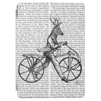 ヴィンテージの自転車のおしゃれなシカ iPad AIR カバー