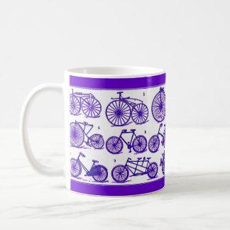 ヴィンテージの自転車 コーヒーマグカップ