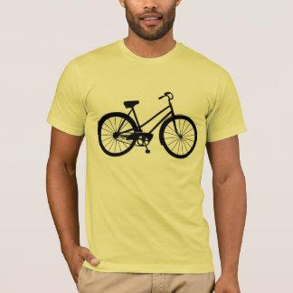 ヴィンテージの自転車-ベクトル芸術のワイシャツ Tシャツ