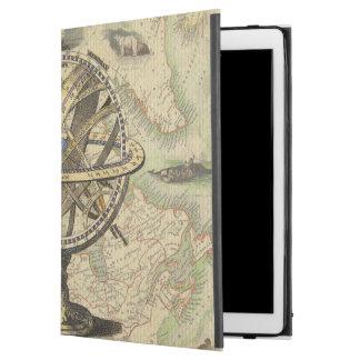 """ヴィンテージの航海のなコンパスおよび地図 iPad PRO 12.9"""" ケース"""
