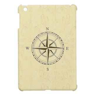 ヴィンテージの航海のなコンパスのアイボリー iPad MINI CASE