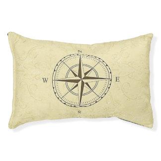 ヴィンテージの航海のなコンパス面図のアイボリー