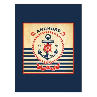 ヴィンテージの航海のなポスター ポストカード