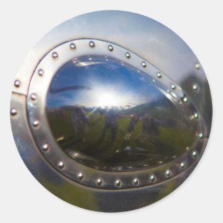 ヴィンテージの航空機の詳細 ラウンドシール