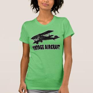 ヴィンテージの航空機の輸送デザイナーTシャツの布 Tシャツ