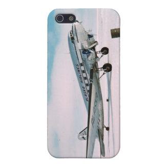ヴィンテージの航空飛行機の飛行機のパイロットの写真 iPhone 5 COVER