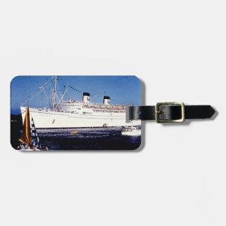 ヴィンテージの船の荷物のラベル ラゲッジタグ
