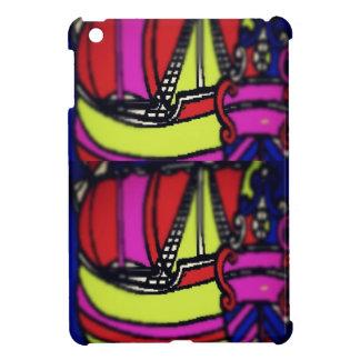 ヴィンテージの船のipadの小型場合 iPad mini case