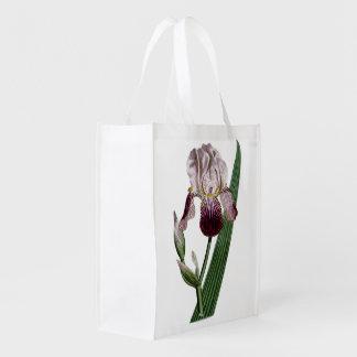 ヴィンテージの花のイラストレーション(ウィリアムカーティス) エコバッグ