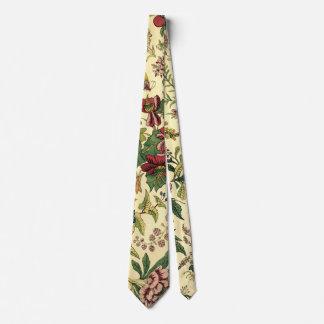 Vintage Floral Tapestry Pattern Tie