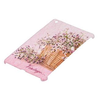 ヴィンテージの花の不安定状態精通した光沢のあるiPad Mini iPad Miniケース