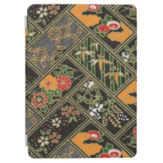 ヴィンテージの花の日本のなパターン iPad AIR カバー
