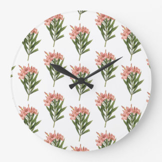 ヴィンテージの花の柱時計3 ラージ壁時計