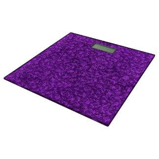 ヴィンテージの花の紫色の紫色のブドウ 体重計