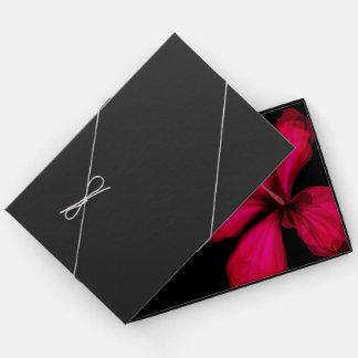 ヴィンテージの花の芸術の家族のゲストブック ゲストブック