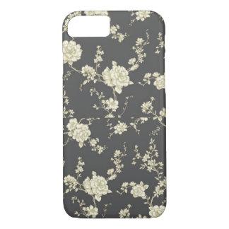 ヴィンテージの花のiPhone 7の場合 iPhone 8/7ケース