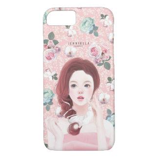 ヴィンテージの花のJennieのiPhone 7の場合 iPhone 8/7ケース