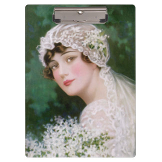 ヴィンテージの花嫁 クリップボード