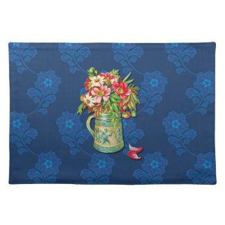 ヴィンテージの花束 ランチョンマット