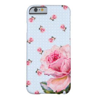 ヴィンテージの花柄および点 BARELY THERE iPhone 6 ケース