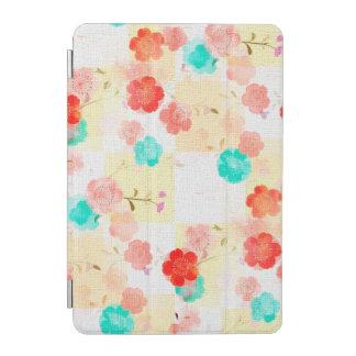 ヴィンテージの花柄のバラ iPad MINIカバー