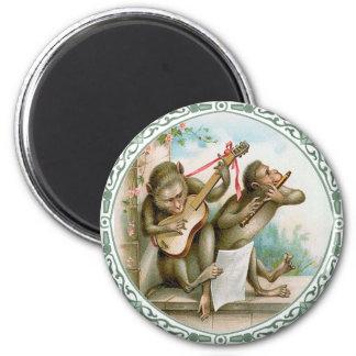 ヴィンテージの芸術の磁石-人間の形をした猿 マグネット