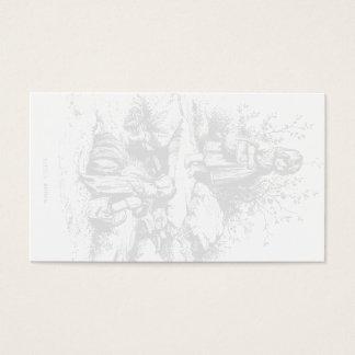 ヴィンテージの芸術少し小川の名刺の透かし 名刺