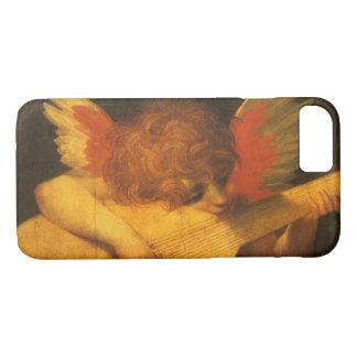 ヴィンテージの芸術、Rosso Fiorentino著ミュージシャンの天使 iPhone 8/7ケース