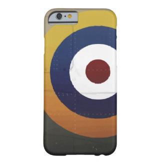 ヴィンテージの英国の航空機のroundel barely there iPhone 6 ケース