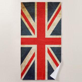 ヴィンテージの英国国旗のイギリスの旗のビーチタオル ビーチタオル