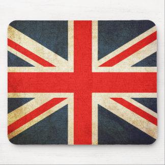 ヴィンテージの英国国旗のイギリスの旗のマウスパッド マウスパッド