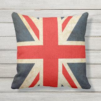 ヴィンテージの英国国旗のイギリスの旗の装飾用クッション アウトドアクッション