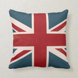 ヴィンテージの英国国旗の旗のファッションの枕 クッション