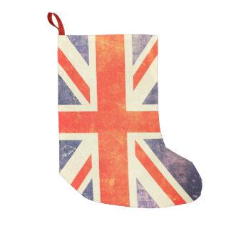 ヴィンテージの英国国旗の旗 スモールクリスマスストッキング