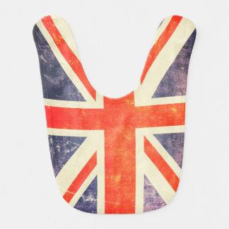 ヴィンテージの英国国旗の旗 ベビービブ