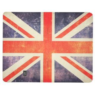 ヴィンテージの英国国旗の旗 ポケットジャーナル