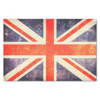 ヴィンテージの英国国旗の旗 薄葉紙