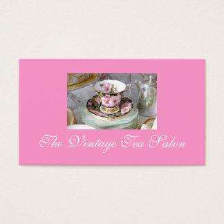 ヴィンテージの茶名刺 名刺